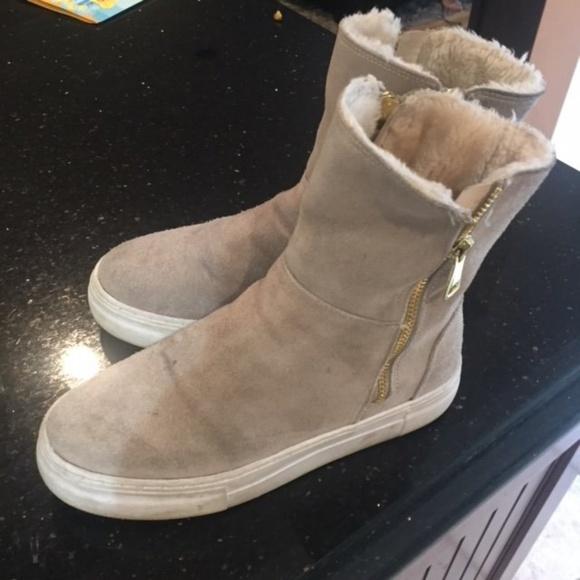 e0ba2558befc j slides Shoes - J Slides Allie FurLined Platform Boot-5